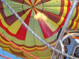 Photo of Las Vegas Las Vegas Sunrise Hot Air Balloon Ride Almost up!
