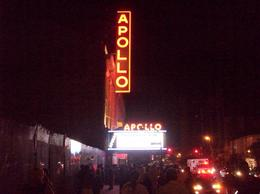 Outside of Apollo. Now I wish we had gotten tickets. - September 2009