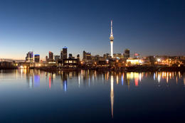 Auckland by night - August 2012
