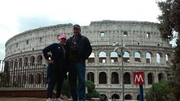 EDUARDO and CARMEN FROM ORLANDO FLORIDA. THE FIRST IN MY IMMEDIATE FAMILY EVER TO GO TO ROME. , dscacevedo - November 2015