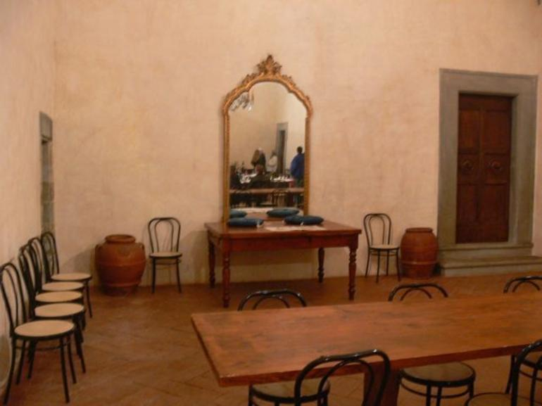 Castle's wine tasting room - Florence