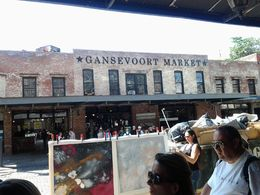 Beautiful day at Gansevoort Market in the Meat Packing District. , Robert P. M - August 2015