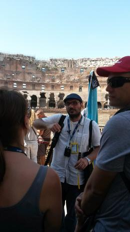 Photo of Rome Skip the Line: Ancient Rome and Colosseum Half-Day Walking Tour guided tour of the colosseum