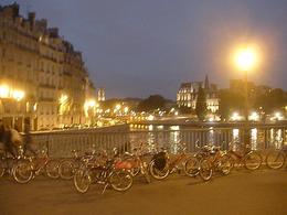 Paris night tour, ice cream stop on Île de la Cité, Kristin C - October 2010