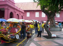 Rickshaw rides Dutch Square, Mallaca , Kenneth C - November 2011