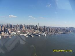 Photo of New York City Manhattan Sky Tour: New York Helicopter Flight Lower down the Hudson