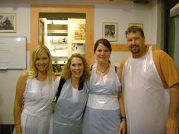 Photo of Florence Tuscan Cooking Class and Dinner in Florence our group
