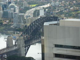 Views from Sydney Tower, The Sydney Harbour Bridge , Susan C - May 2011