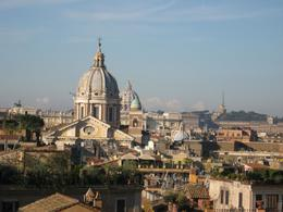 Photo of Rome Catacombs and Roman Countryside Half-Day Walking Tour Roma Skyline