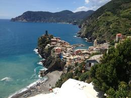 Photo of Florence Cinque Terre Hiking Day Trip from Florence View at the end of the hike