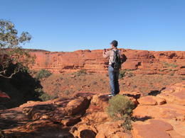 Photo of Ayers Rock Kings Canyon Day Trip from Ayers Rock view form King's Canyon top
