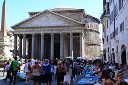 Outside the Pantheon, Jeff - July 2013
