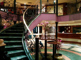 Entrance for the boat, including the reception and the first stairway. , FABIO L - March 2015