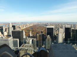 Central Park from Rockerfeller , Hulkie - March 2011