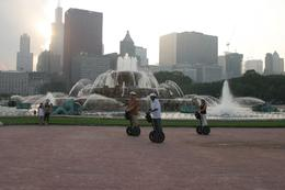 We drove by this cool fountain while on our tour. - June 2010