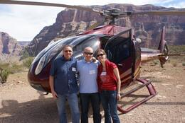 Photo of Las Vegas Grand Canyon All American Helicopter Tour Down in the Canyon
