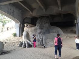 Photo of   Fremont troll