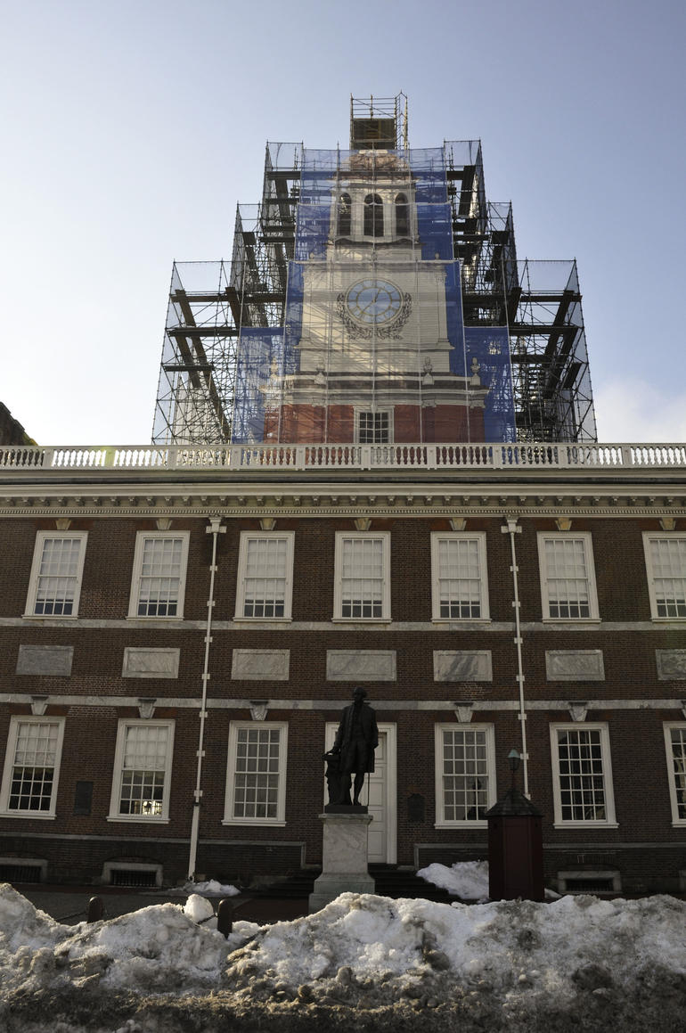 Independence Hall - Courtroom - New York City