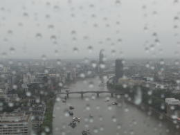 Photo of London London Eye: Champagne Experience London Eye in the rain.