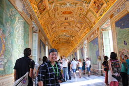 Photo of Rome Skip the Line: Vatican Museums Walking Tour including Sistine Chapel, Raphael's Rooms and St Peter's My favorite ceiling at Vatican Museum