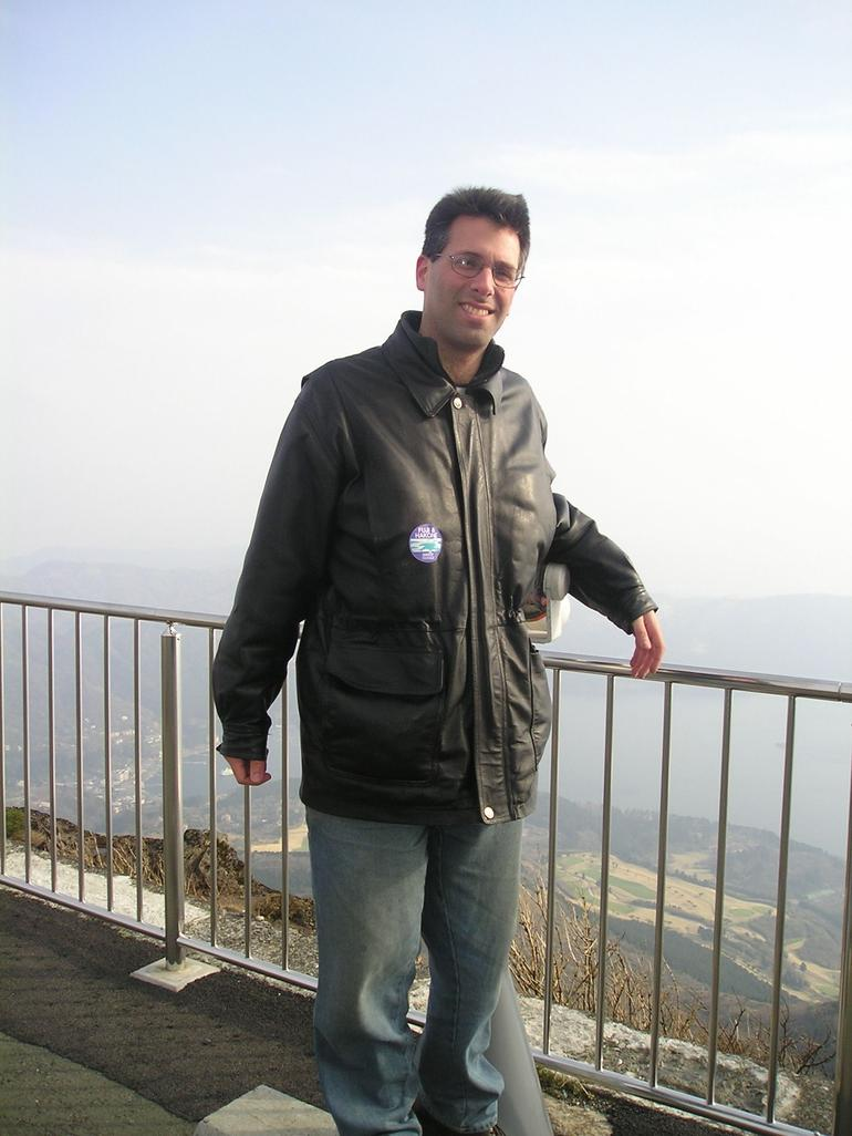 On top of Mt.Komagatake after Cable car ride - Tokyo