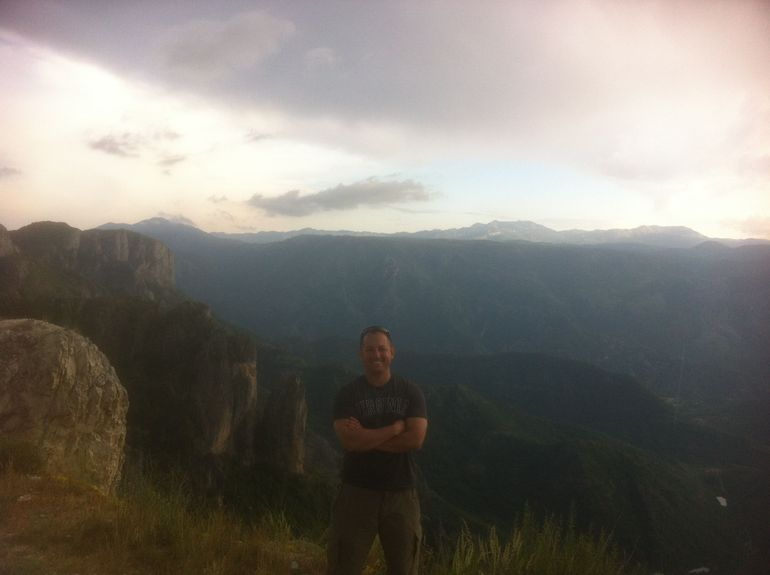 Our guide made several stops for pictures along the way. Here's one...not sure if its Croatia, Bosnia, or Montenegro.