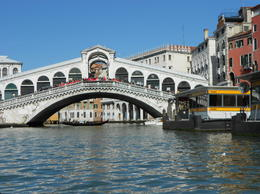 End of the tour The Rialto Bridge , Mr Stephen J F - March 2013