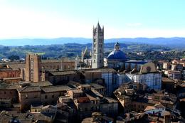 Cathedral as seen from the Torre del Mangia. , Philina H - February 2013