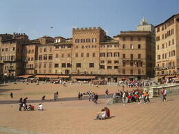 Photo of Florence Tuscany in One Day Sightseeing Tour Square at Siena