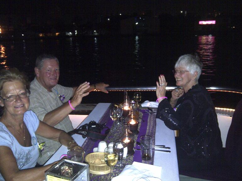 Table No 1 on boat - Bangkok