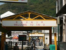 Entrance Gate, Tai O, Lantau, on tour by Anthony Partridge, Anthony P - December 2009