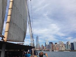 Photo of New York City Statue of Liberty Tall Ship Sailing Cruise View of the skyline