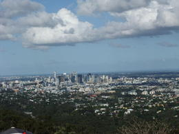 the amazing view from Mt.Coot-tha over Brisbane. Simply breathtaking! , hayley g - January 2011
