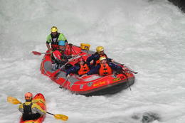 Photo of Rotorua Kaituna River White Water Rafting from Rotorua we made it!