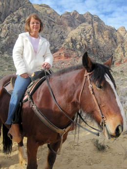 Photo of Las Vegas Morning Maverick Horseback Ride with Breakfast What a great horse