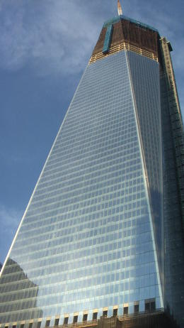 This is the new World Trade Tower still has 10 more stories to go. I believe it will be the tallest building in the usa, maybe world. It will be complete in 2013. , chaboi614 - January 2012