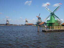 It was very impressive to see actual working windmills. , William K - May 2013