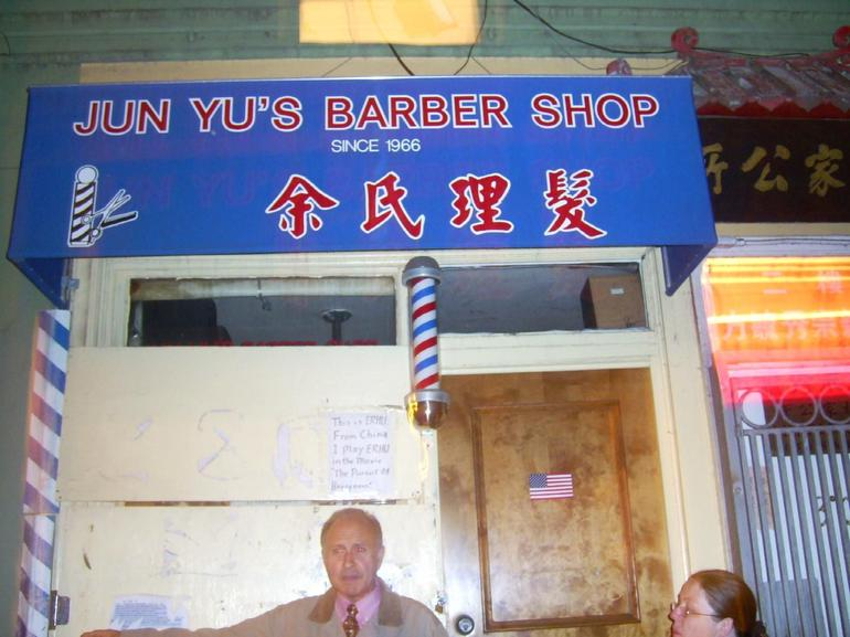 $1 Barbar shop - San Francisco