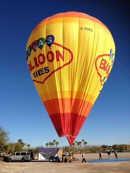 Photo of Las Vegas Las Vegas Sunrise Hot Air Balloon Ride Almost Done