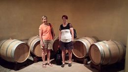 Mandy and I at the winery , Belinda N - August 2015