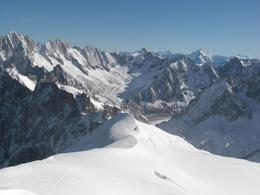 Photo of Geneva Chamonix and Mont Blanc Frozen Alps Atop Aiguille du Midi