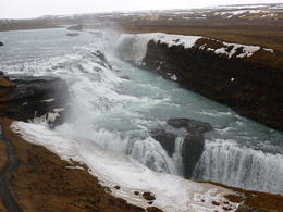 Photo of Reykjavik Golden Circle Classic Day Trip from Reykjavik Gullfoss in its full beauty !