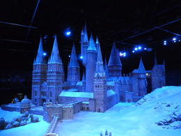 Photo of London Warner Bros. Studio Tour London - The Making of Harry Potter Hogwarts in the snow