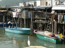 Old House on Stilts, Tai O, Lantau, on tour by Anthony Partridge, Anthony P - December 2009