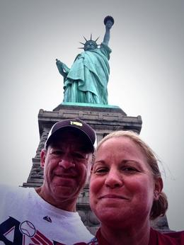 Lara and Jody Rosato touring the Statue of Liberty. , Lara G. R - July 2014