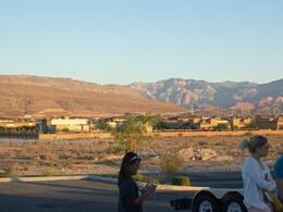 Looking out towards Red Rock, Nicks - August 2011