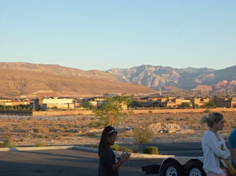 Looking out towards Red Rock - Las Vegas