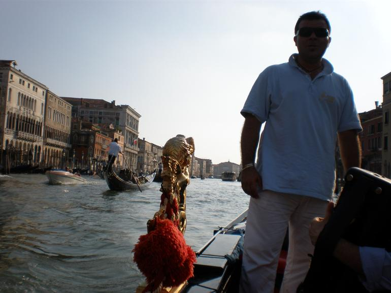 Out in the Grand Canal - Venice