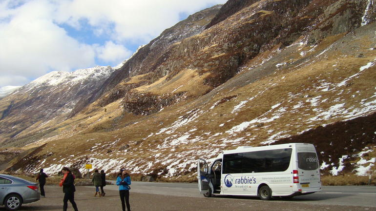 Photo opportunity at Glencoe - Edinburgh