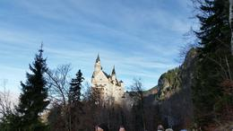 Photo of Munich Neuschwanstein Castle Small Group Day Tour from Munich The castle from the base of the path